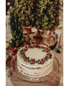 Torta Guirlanda de Natal
