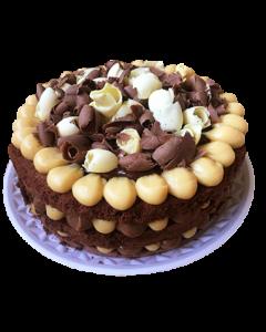 Naked Cake Chocolatuda 26 cm