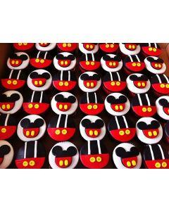 Cupcakes Mickey (6 unidades)