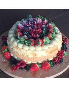 Naked Cake Floresta Encantada 26 cm