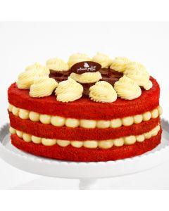 Naked Cake Red Velvet 18 cm