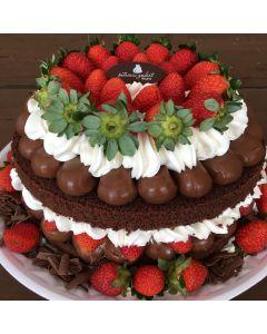 Naked Cake Morangolate 30 cm