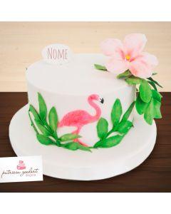 Bolo Temático Flamingo (1)