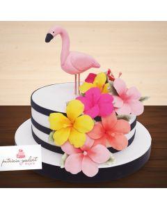 Bolo Temático Flamingo (2)