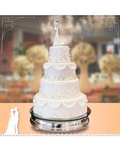 Bolo Pérolas - Casamento