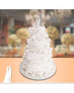 Bolo Wave - Casamento