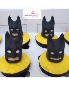Cupcakes Batman (6 unidades)