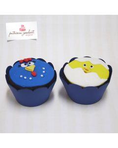 Cupcakes Galinha Pintadinha 2 (6 unidades)