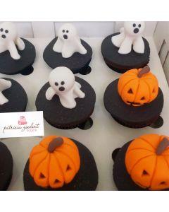 Cupcakes Halloween 1 (6 unidades)