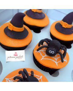 Cupcakes Halloween 2 (6 unidades)