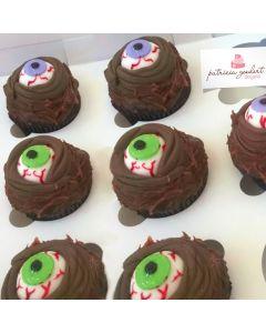 Cupcakes Halloween 3 (6 unidades)