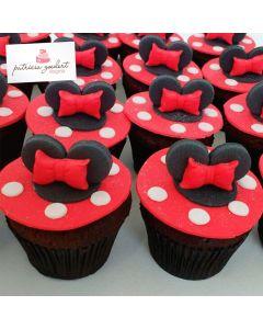 Cupcakes Minnie 1 (6 unidades)