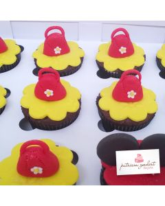 Cupcakes Minnie 3 (6 unidades)