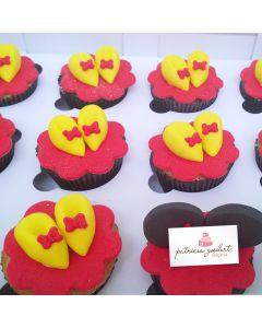 Cupcakes Minnie 4 (6 unidades)