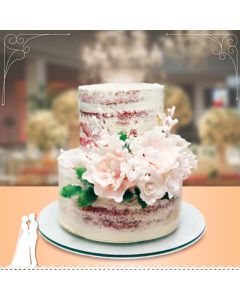 Naked Cake Espatulado - Mini Wedding